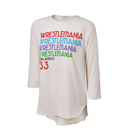 WrestleMania 33 Junk Food Ivory Women's Long Sleeve T-Shirt