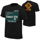 """""""Brock Lesnar """"""""Suplex City: Las Vegas"""""""" Authentic T-Shirt"""""""
