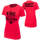 """Bad News Barrett """"King of Bad News"""" Women's Authentic T-Shirt"""
