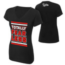 """Nikki Bella """"Totally Fearless"""" Women's V-Neck Authentic T-Shirt"""