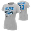 """WrestleMania 33 """"Orlando"""" Sport Silver Women's T-Shirt"""