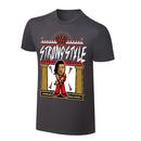 """WWE x NERDS Shinsuke Nakamura """"Strong Style"""" Cartoon T-Shirt"""
