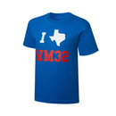 """WrestleMania 32 """"I <3 Texas"""" Youth T-Shirt"""