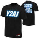 """Chris Jericho and AJ Styles """"Y2AJ"""" Youth Authentic T-Shirt"""