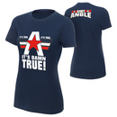 """Kurt Angle """"It's Damn True"""" Women's Authentic T-Shirt"""