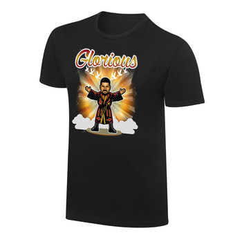 """""""WWE x NERDS Bobby Roode """"""""I Won't Give In"""""""" Cartoon T-Shirt"""""""
