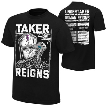 WrestleMania 33 Roman Reigns vs. Undertaker Match T-Shirt