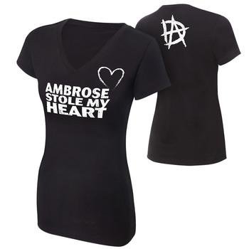 """""""Dean Ambrose """"""""Stole My Heart"""""""" Women's T-Shirt"""""""