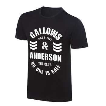 """""""Gallows and Anderson """"""""No One Is Safe"""""""" Vintage T-Shirt"""""""