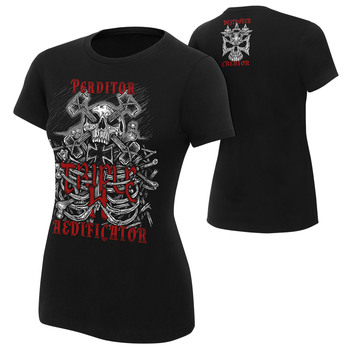 """Triple H """"Destroyer, Creator"""" Women's Authentic T-Shirt"""