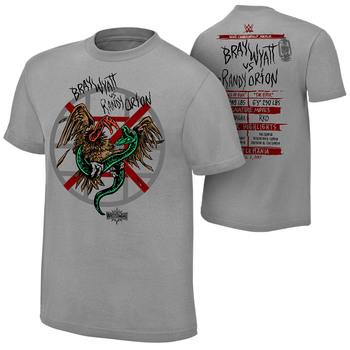 WrestleMania 33 Bray Watt vs. Randy Orton Match T-Shirt