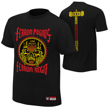 """""""Triple H """"""""Iron Fist, Iron Rule"""""""" Authentic T-Shirt"""""""