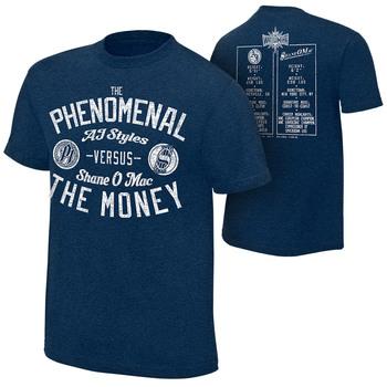 WrestleMania 33 AJ Styles vs. Shane McMahon Match T-Shirt