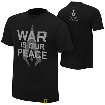 """""""Authors of Pain """"""""War is our Peace"""""""" Authentic T-Shirt"""""""