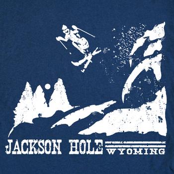 Snow Ski Jackson Hole Wyoming Snowboard Vintage