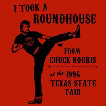 Chuck Norris T Ninja Karate Funny 80s Vintage
