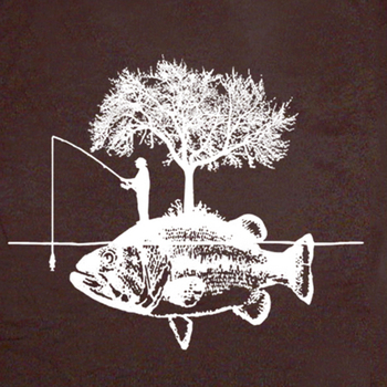 Fisherman Fishing Vintage Funny Retro