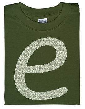 e By Numbers T-shirt
