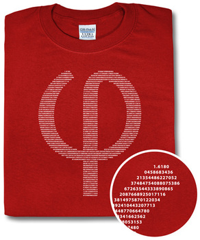 Phi by Numbers T Shirt