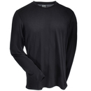 Arborwear Shirts: Men's 706603 BLK Black Transpiration Moisture-Wicking Long-Sleeve T-Shirt