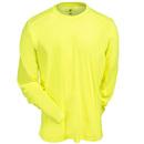 Arborwear Shirts: Men's 706603 YEL Long-Sleeve Safety Yellow Transpiration T-Shirt
