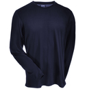 Arborwear Shirts: Men's 706603 NVY Transpiration Navy Blue Long-Sleeve T-Shirt