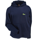 Berne Sweatshirts: Men's SFP03 NV Navy Blue Water-Resistant Performance Hooded Pullover Sweatshirt