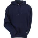 Berne Sweatshirts: Men's SP300 NV Navy Blue Thermal-Lined Hooded Pullover Sweatshirt