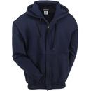 Bulwark Sweatshirts: Men's SEH4 NV Navy Flame-Resistant Hooded Zip-Up Sweatshirt
