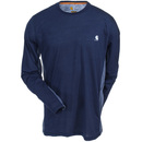 Carhartt Force Shirts: Force Extremes 102264 495 FastDry 37.5 Navy Long-Sleeve T-Shirt