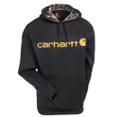 Carhartt Force Sweatshirts: Men's 102314 001 Black Force Extremes Signature Graphic Hooded Sweatshirt