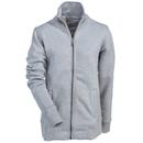 Carhartt Sweatshirts: Women's 102342 058 Grey Heather Dunlow Mock Neck Sweatshirt