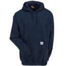 Carhartt Sweatshirts: Men's K288 472 New Navy Blue Midweight Hooded Logo Sweatshirt