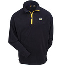 CAT Apparel Sweatshirts: Men's 1310031 016 Black Concord Fleece Quarter-Zip Pullover Sweatshirt