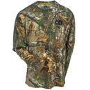 CAT Apparel Shirts: Men's 1510107 10520 Realtree Xtra Camo Long-Sleeve Tee Shirt