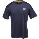 CAT Apparel Shirts: Men's 1510272 061 Graphite Grey Conquest Performance Tee Shirt