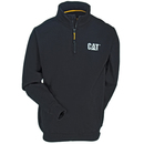 CAT Apparel Sweatshirts: Men's 1910004 016 Black Canyon 1/4 Zip Sweatshirt