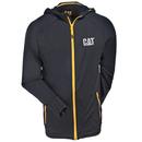 CAT Apparel Sweatshirts: Men's 1910006 016 Black Contour Zip Sweatshirt