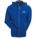 CAT Apparel Sweatshirts: Men's 1910006 40F Vintage Blue Contour Zip Sweatshirt