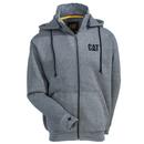 CAT Apparel Sweatshirts: Men's 1910039 004 Dark Heather Grey Basin Zip Sweatshirt
