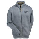 CAT Apparel Sweatshirts: Men's 1910052 004 Dark Heather Grey Ravine Zip Sweatshirt