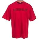 Caterpillar Shirts: Men's Red Logo 1510227 155 Short Sleeve Work T-Shirt