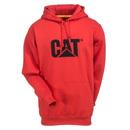 CAT Apparel Sweatshirts: Men's W10646 11078 Red Tide Hooded Sweatshirt