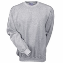 Hanes Sweatshirts: Men's Light Steel F260 LST Ultimate Cotton Crewneck Sweatshirt