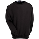 Sport-Tek Sweatshirts: Men's Black F280 BLK Heavyweight Crewneck Sweatshirt