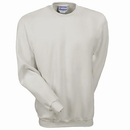 Hanes Sweatshirts: Men's White F260 WHT Ultimate Cotton Crewneck Sweatshirt