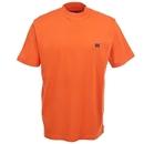 Wrangler Riggs Shirts: Men's Orange 3W700 SO Cotton Pocket Tee Shirt