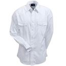 Wrangler Shirts: Men's White 75221 WH Western Snap Long Sleeve Shirt