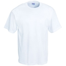 Hanes Shirts: Men's Cotton Blend Short Sleeve White Tee Shirt 5170 WH