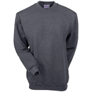 Hanes Sweatshirts: Men's Charcoal F260 CHH Ultimate Cotton Crewneck Sweatshirt